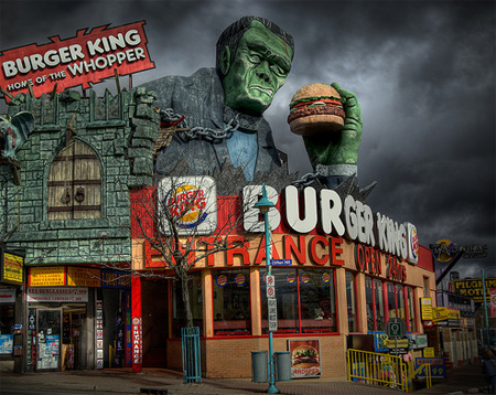 Frankenburger by Bryan Scott
