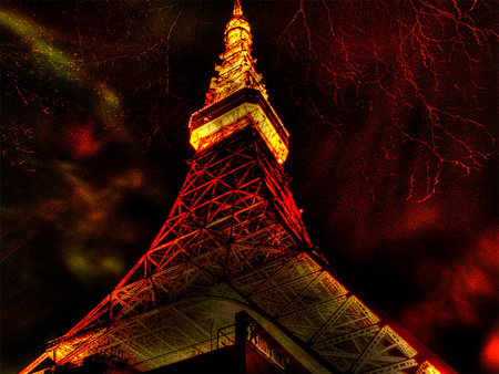Tokyo Tower HDR by R23W
