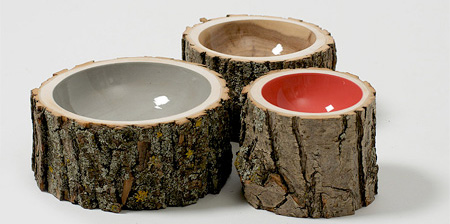 Log Bowls by Doha Chebib