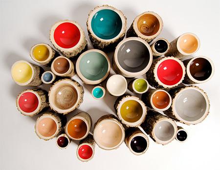 Eco-Friendly Log Bowls by Doha Chebib 4