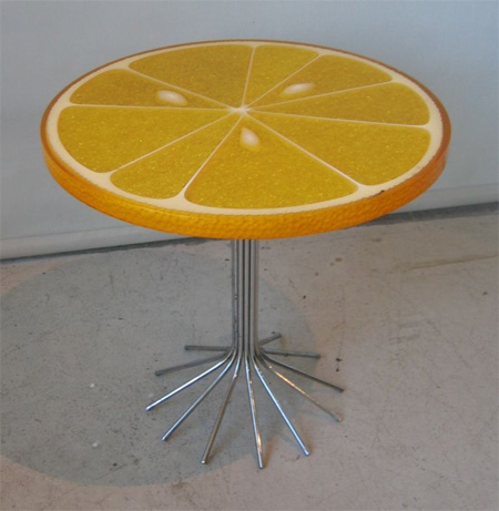 Orange Slice Table