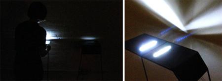 Breathing Light Tables