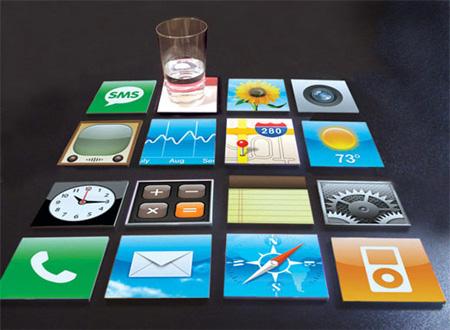 iPhone Coasters