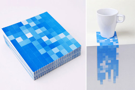 Pixel Drink Coasters