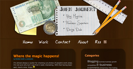 Beautiful and Creative Website Headers 16