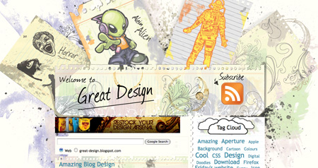 Beautiful and Creative Website Headers 23