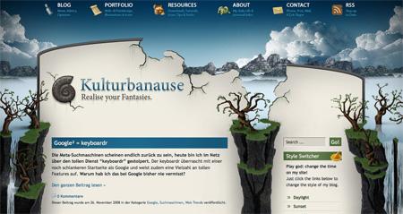 Beautiful and Creative Website Headers 07