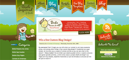 Beautiful and Creative Website Headers 09