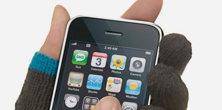 Winter Gloves for your iPhone