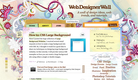 Beautiful WordPress Blog Designs 14