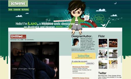Beautiful WordPress Blog Designs 09