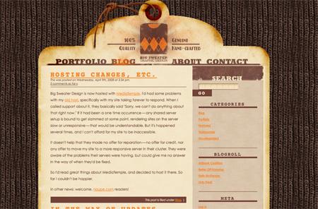 Beautiful WordPress Blog Designs 18