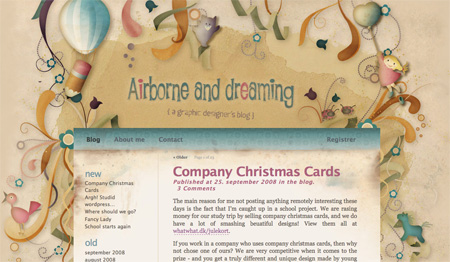 Beautiful WordPress Blog Designs 12