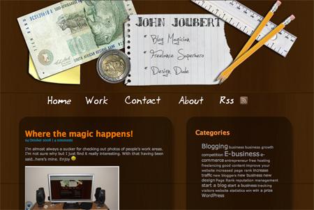 Beautiful WordPress Blog Designs 13