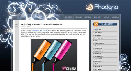 Beautiful WordPress Blog Designs 20