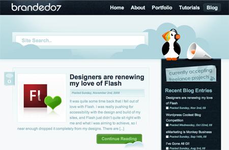 Beautiful WordPress Blog Designs 24
