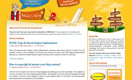 Beautiful WordPress Blog Designs 23
