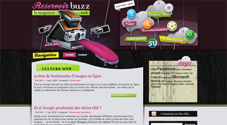 Beautiful WordPress Blog Designs 01