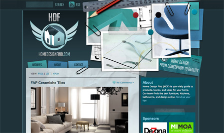 Beautiful WordPress Blog Designs 11