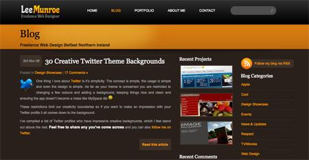 Beautiful WordPress Blog Designs 15