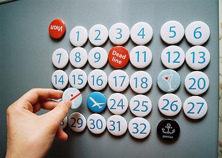 Dorogaya Magnetic Calendar