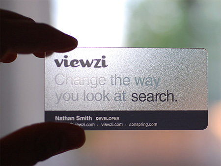 Viewzi Business Card