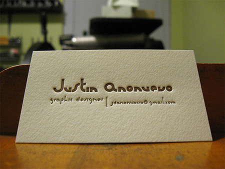 Justin Anonuevo Business Card