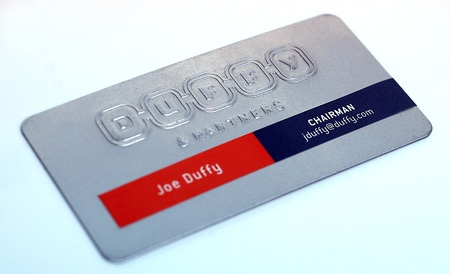 Joe Duffy Business Card