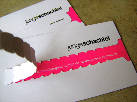 Junge Schachtel Business Card