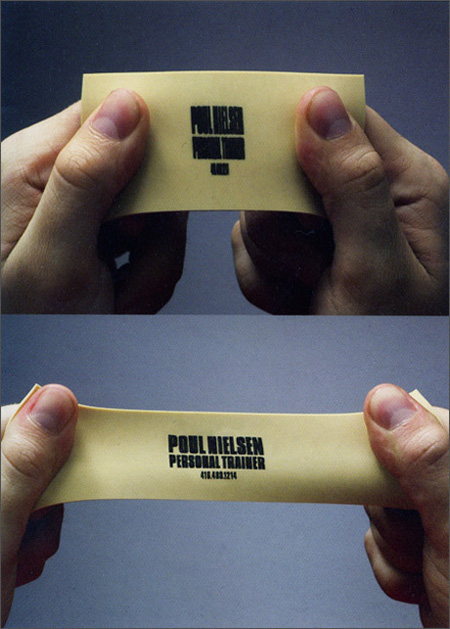 Paul Nielsen Personal Trainer Business Card