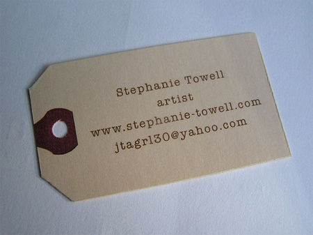 Stephanie Towell Business Card