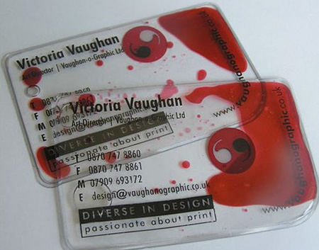 Victoria Vaughan Business Card