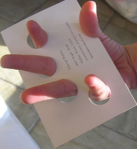 Manicurist Business Card