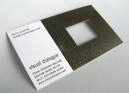Visual Dialogue Business Card