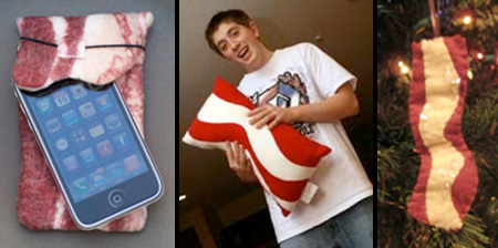 Gadgets and Designs Inspired by Bacon