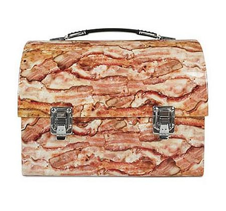 Bacon Metal Lunch Box