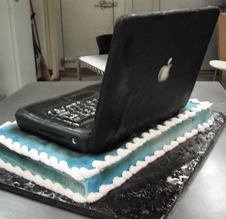 Cake Laptop Designs : Beautiful and Creative Food Art Creations