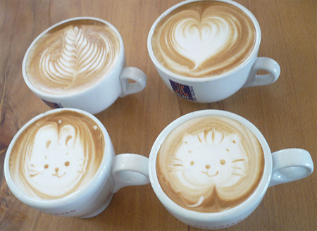 Latte Coffee Art 3