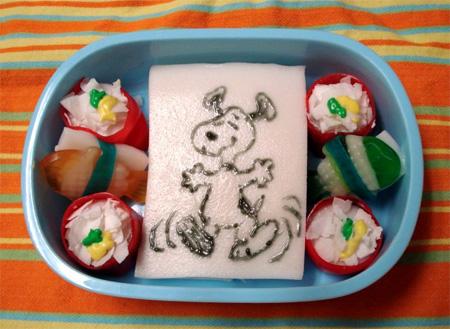 Snoopy Snack Bento