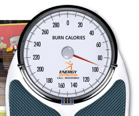 Energy Fitness Unlimited Burn Calories Advertisement