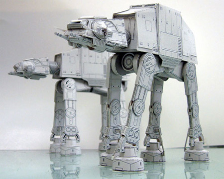 Star Wars Paper Models 2