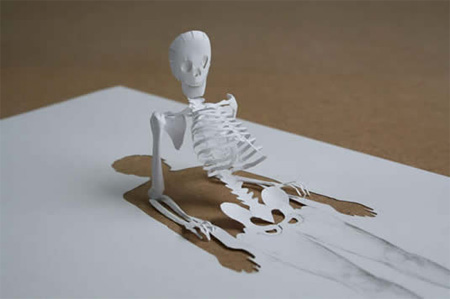 Paper Cut Sculptures by Peter Callesen 2