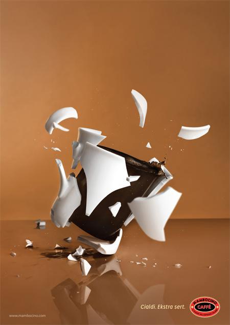Mambocino Coffee Advertisement