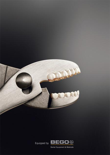 BEGO Dental Equipment and Materials Advertisement