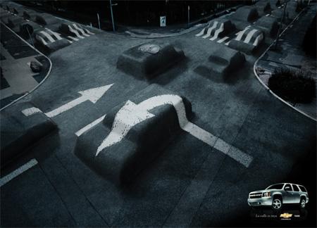 Chevrolet Tahoe Advertisement