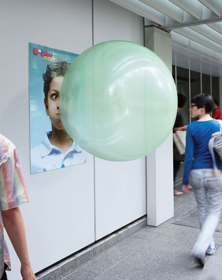 Big Babol Bubble Gum Advertisement