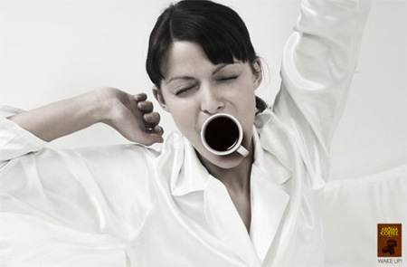 Aroma Coffee Advertisement