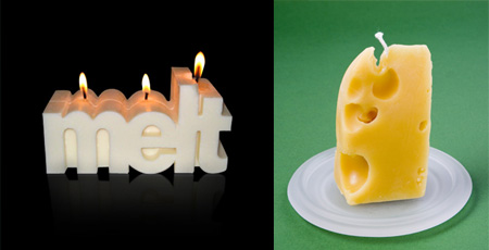 Creative and Unusual Candle Designs