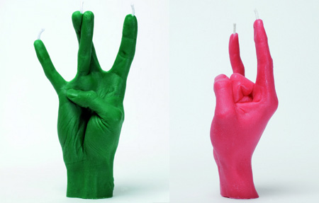 Hand Gesture Candles 3