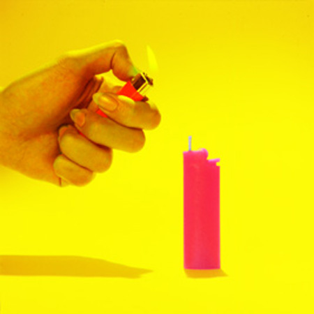 BIC Lighter Candle